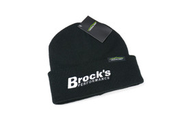 Buy Crossland Cuff Beanie Black w/ White Logo SKU: 504007 at the price of US$ 12.95 | BrocksPerformance.com