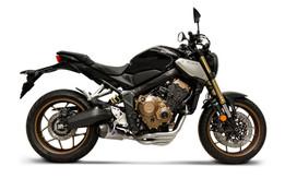 Buy Termignoni Full System w/ SO-01 Muffler - Honda CB650R (19-21) SKU: 759243 at the price of US$ 1095 | BrocksPerformance.com