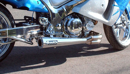 "Buy Sidewinder Full System 14"" Muffler GSX-R1000 (07-08) SKU: 391925 at the price of US$  1289 