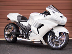 "Buy Sidewinder Full System 20"" Muffler ZX-14 (06-11) 392978 at the best price of US$ 1289 