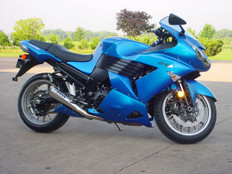 "Buy ShortMeg Full System 14"" Muffler ZX-14 (06-11) 392198 at the best price of US$ 1179 