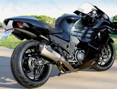 "Buy CT Single Full System w/ 16"" Muffler ZX-14/R (06-20) 391613 at the best price of US$ 1899 