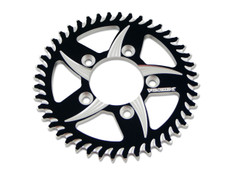 Buy Vortex 840 Rear Sprocket (for BST Wheels) 43T Black/Silver 530 Chain 451445 at the best price of US$ 74.95 | BrocksPerformance.com