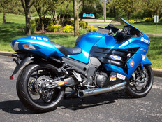 "Buy TiWinder Polished Full System w/ 18"" Muffler Race Baffle ZX-14/R (06-20) 390170 at the best price of US$ 1999 