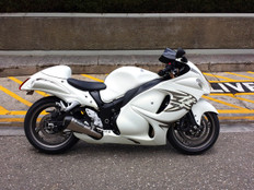 "Buy CT Megaphone Full System w/ 17"" Muffler Hayabusa (08-20) 393875 at the best price of US$ 2199 