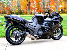 "Buy CT Megaphone Full System w/ 17"" Muffler ZX-14/R (06-20) 393888 at the best price of US$ 1999 