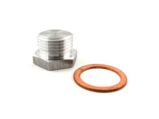 Buy Oxygen Sensor 18mm Bung Plug w/ Copper O-Ring Titanium Exhaust SKU: 900478 at the price of US$  24.99 | BrocksPerformance.com