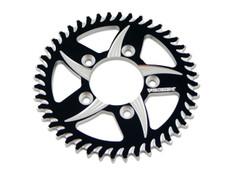 Buy Vortex 840 Rear Sprocket (for BST Wheels) 44T Black/Silver 525 Chain 453330 at the best price of US$ 74.95 | BrocksPerformance.com