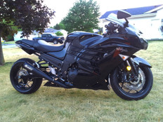 "Buy StreetMeg Full System Black 20"" Muffler ZX-14R (12-20) 397385 at the best price of US$ 1449 