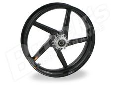 Buy BST Diamond TEK 17 x 3.5 Front Wheel - Aprilia RSV1000R and Factory w/ Radial Front Calipers (05-08) / Tuono 1000 Mille Factory (04-05)/ TuonoR and Factory (06-14) SKU: 162275 at the price of US$  1499 | BrocksPerformance.com