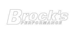 Buy 2 x 8'' Brock's Decal Intermediate White 902989 at the best price of US$ 2.49 | BrocksPerformance.com