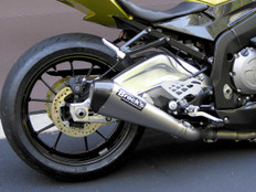 "Buy CT Megaphone Full System w/ 17"" Muffler S1000RR (10-14) and S1000R (14-16) SKU: 395474 at the best price of US$ 1999 