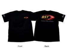 Buy Medium BST Logo Shirt Black 500882 at the best price of US$ 14.99   BrocksPerformance.com