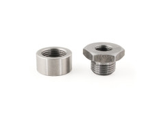 Buy Oxygen Sensor Custom Bung Kit 18mm Boss 12mm Tapped Plug SKU: 811548 at the price of US$ 19.99 | BrocksPerformance.com
