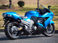 "Buy ShortMeg 2 Full System Black 14"" Muffler ZX-14R (12-20) 397177 at the best price of US$ 1529 