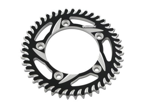 Buy Vortex Rear Sprocket 38 Tooth Black & Silver 530 Chain Hayabusa (99-07) 455189 at the best price of US$ 74.95 | BrocksPerformance.com