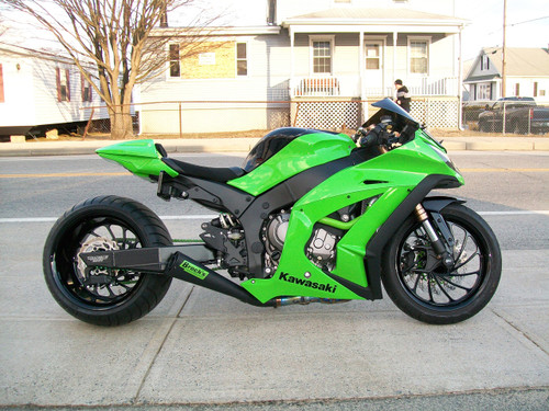 Buy Single Alien Head Slip-On (3/4 System) Black ZX-10R (11-15) 301526 at the best price of US$ 749 | BrocksPerformance.com