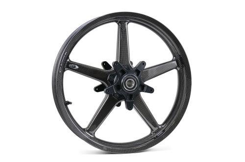 BST Twin TEK 17 x 3.5 Front Wheel for Spoke Mounted Rotor - Harley-Davidson Touring Models (14-20)