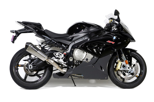 "CT Single Full System w/ 16"" QuietKore Muffler S1000RR (15-19) and S1000R (17-20)"