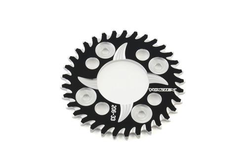 Vortex Rear Sprocket 34 Tooth Black & Silver 420 Chain Grom/MSX125 (14-20) / Monkey (2019)