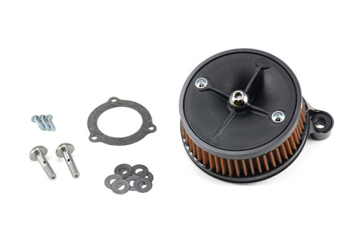 S&S Sprint P08 HiFlo Stealth Air Cleaner Kit Stock EFI Touring (08-13)