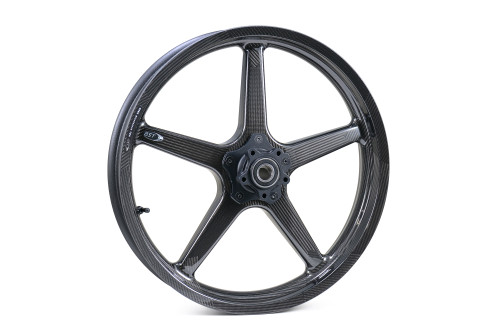 BST Twin TEK 21 x 3.5 Front Wheel for Hub Mounted Rotor - Harley-Davidson Touring Models (09-20)
