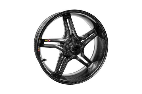 BST Rapid TEK Rear Wheel 5 Split Spoke 6.0 x 17 for Kawasaki ZX-14 (06-19)  Includes ABS Version