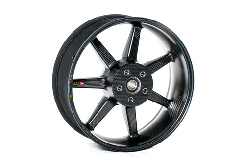 BST Black Mamba i-Series Rear Wheel 7 Spoke 6.0 x 17 for Suzuki Hayabusa (13-19) ABS