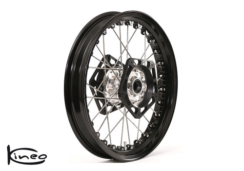 Buy Front Kineo Wire Spoked Wheel 3.50 x 17.0 Triumph Thruxton/ThruxtonR (1200cc lc) (16- ) 287163 at the best price of US$ 1295 | BrocksPerformance.com