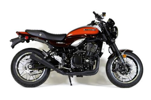 """Buy StreetMeg Full System Black Cerakote® 20"""" Muffler Kawasaki Z900RS / Cafe (18-21) SKU: 398737 at the price of US$  1429   BrocksPerformance.com"""