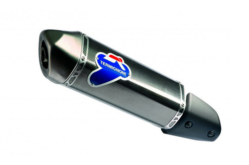 Termignoni Relevance Black Stainless Steel Slip-On Exhaust (Aprilia/Derbi/Gilera/Piaggio)