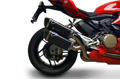 Termignoni Force Stainless /Carbon Dual Slip-On Panigale 959 (16-18)