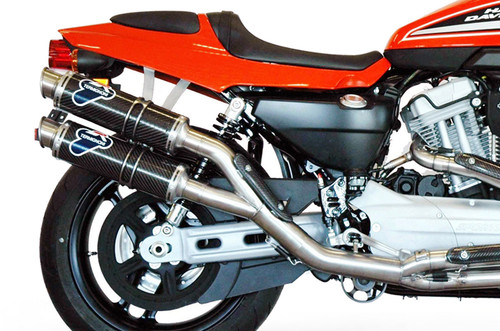 Termignoni Round 2-1-2 Stainless Race System XR1200 R