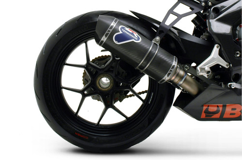 Termignoni Relevance Stainless/Carbon Slip-On F3 675 (12-18)