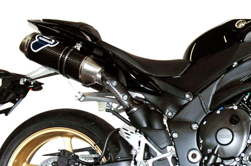 Termignoni Oval Stainless/Carbon Dual Undertail Full Exhaust YZF-R1 (09-11)