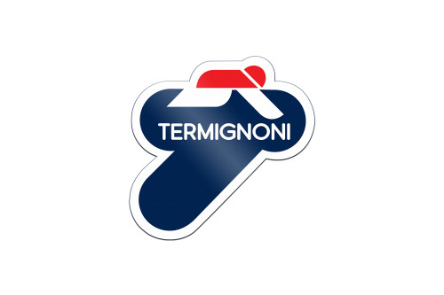 "Termignoni Heat-Resistant Sticker 3.5""x 3.5"" (For use on exhaust sleeve)"