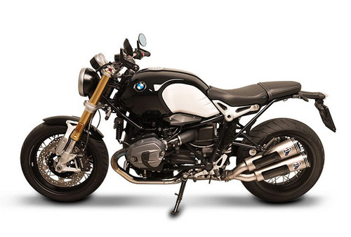 Termignoni Conical Dual Mufflers Stainless Slip-On R nineT (16-18) Low Mount