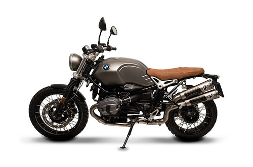 Termignoni Conical Dual Mufflers Stainless Slip-On R nineT (16-18) High Mount