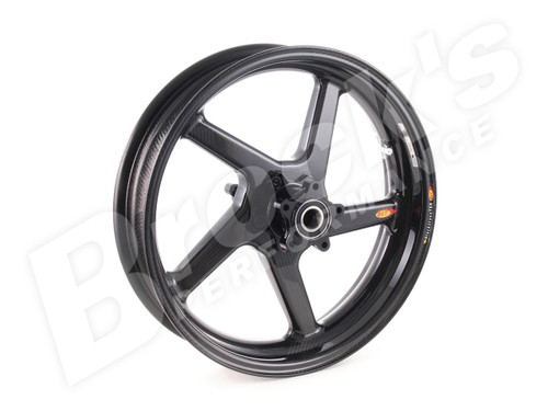 MATTE SET BST R+ Series Front and Rear Wheel 3.5 x 16 for Harley-Davidson Touring Models (00-08)