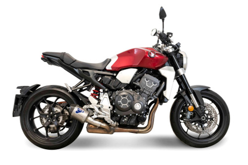 Termignoni SO-04 Slip-On Cylindrical Titanium Sleeve with Carbon End Cap Honda CB1000R (18-19)