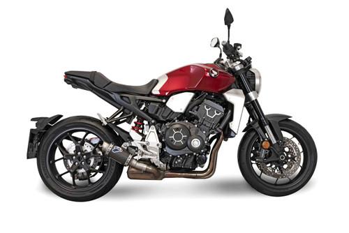 Termignoni SO-05 Slip-On GP Classic Stainless w/ Carbon Muffler Honda CB1000R (18-19)