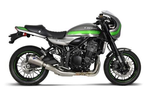 Buy Termignoni SO-01 Slip-On Titanium Sleeve w/ Carbon End Cap Kawasaki Z900RS (18-21) SKU: 759048 at the price of US$ 579 | BrocksPerformance.com