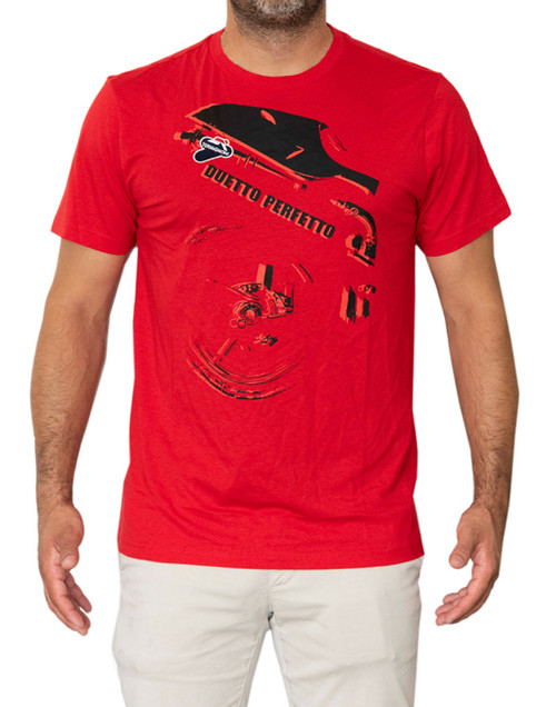 Termignoni T-Shirt Duetto Red XXL