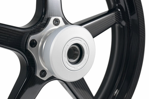 BST Hub Cover Kit (Natural) for Harley-Davidson Wheels