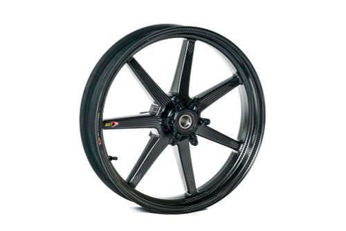 Buy BST 7 TEK 17 x 3.5 Front Wheel - Aprilia RSV4/APRC/RSV4RF/RSV4RR (09-20) and Tuono V4 1100 RR (15-19) SKU: 162535 at the price of US$  1399 | BrocksPerformance.com