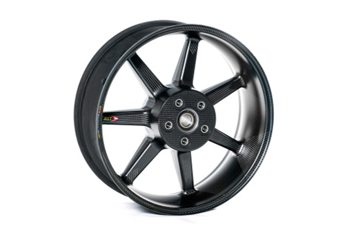 Buy BST 7 TEK 17 x 6.0 Rear Wheel - Aprilia RSV4/APRC/RSV4RF/RSV4RR (09-20) and Tuono V4 1100 RR (15-19) SKU: 162548 at the price of US$  2099   BrocksPerformance.com