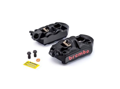 Buy Brembo M4 Front Caliper Set (Radial Mount) Black SKU: 705296 at the price of US$ 699 | BrocksPerformance.com