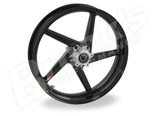 Buy BST Diamond TEK 17 x 3.5 Front Wheel - Kawasaki ZX-14/R (06-21) / ZX-10R (06-15) / ZX-6R and ZX636 (05-21) SKU: 161326 at the price of US$ 1499   BrocksPerformance.com
