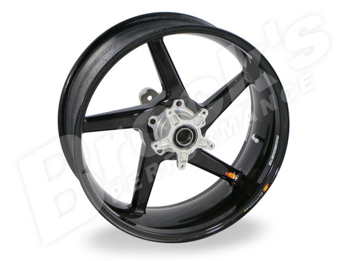 BST Diamond TEK 17 x 6.0 Rear Wheel -Kawasaki ZRX1200 (01-05)