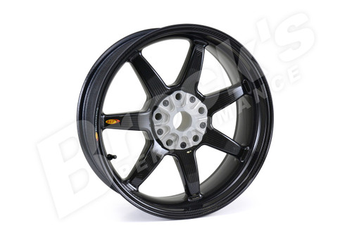 BST Rear Wheel 6.0 x 17 for BMW R nineT (13-18) / HP2 / K1200 S/R/GT / K1300 S/R/GT / R1200 S/R/GS/GS Adventure (up to 2013)